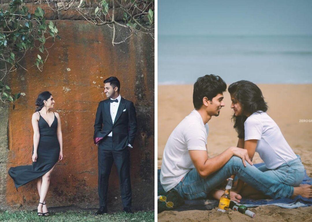 Western Pre Wedding Shoot Dresses Ideas For Millennial Couples