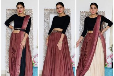 ways to drape a saree