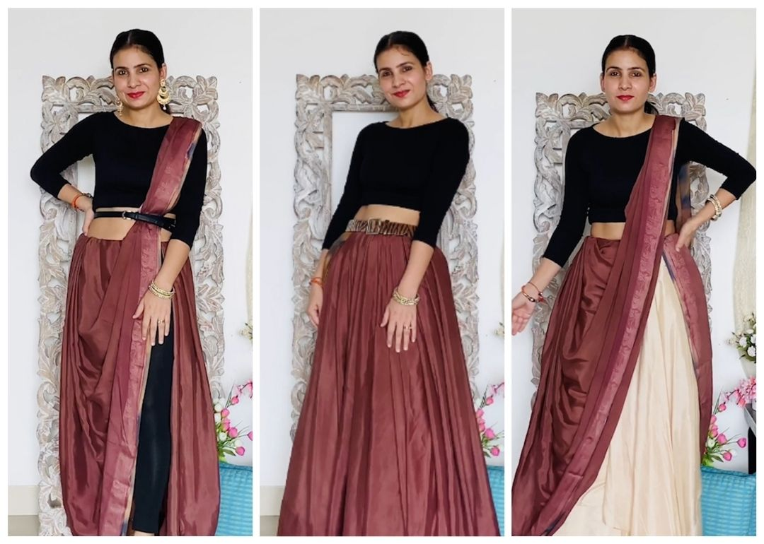 Super Stylish Ways To Drape A Saree For An Upcoming Wedding Season