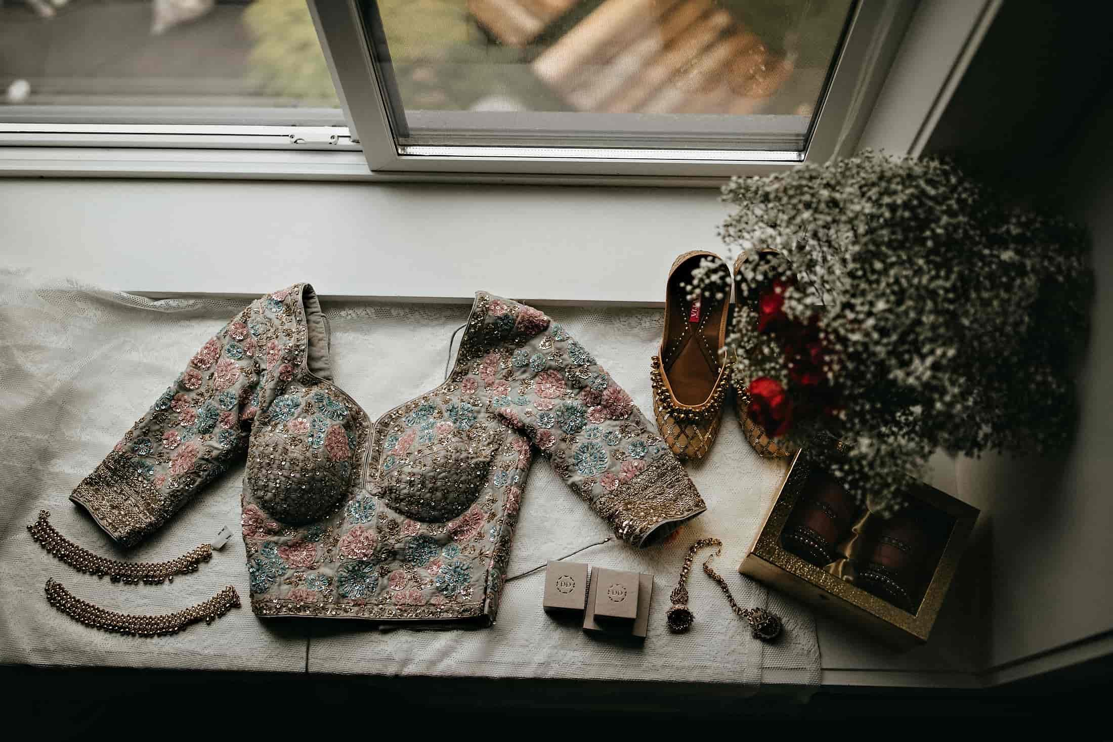 designer lehenga blouse