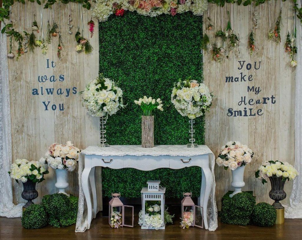 wedding backdrop decor ideas