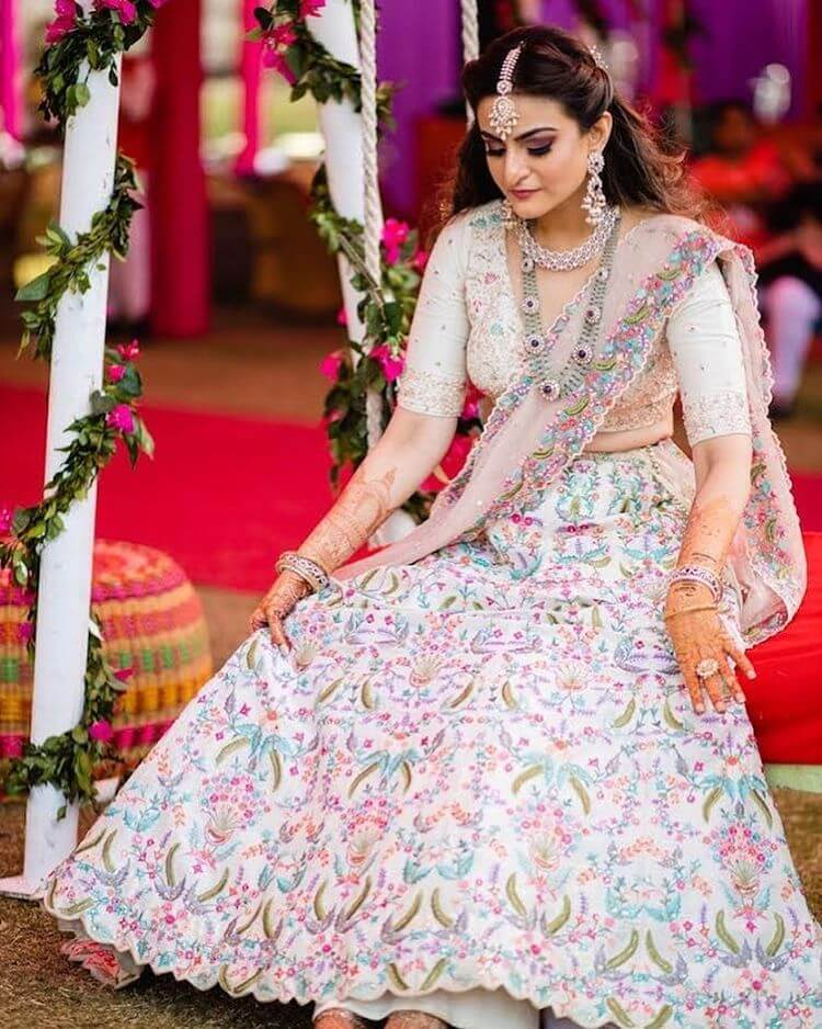 bridal lehenga colors