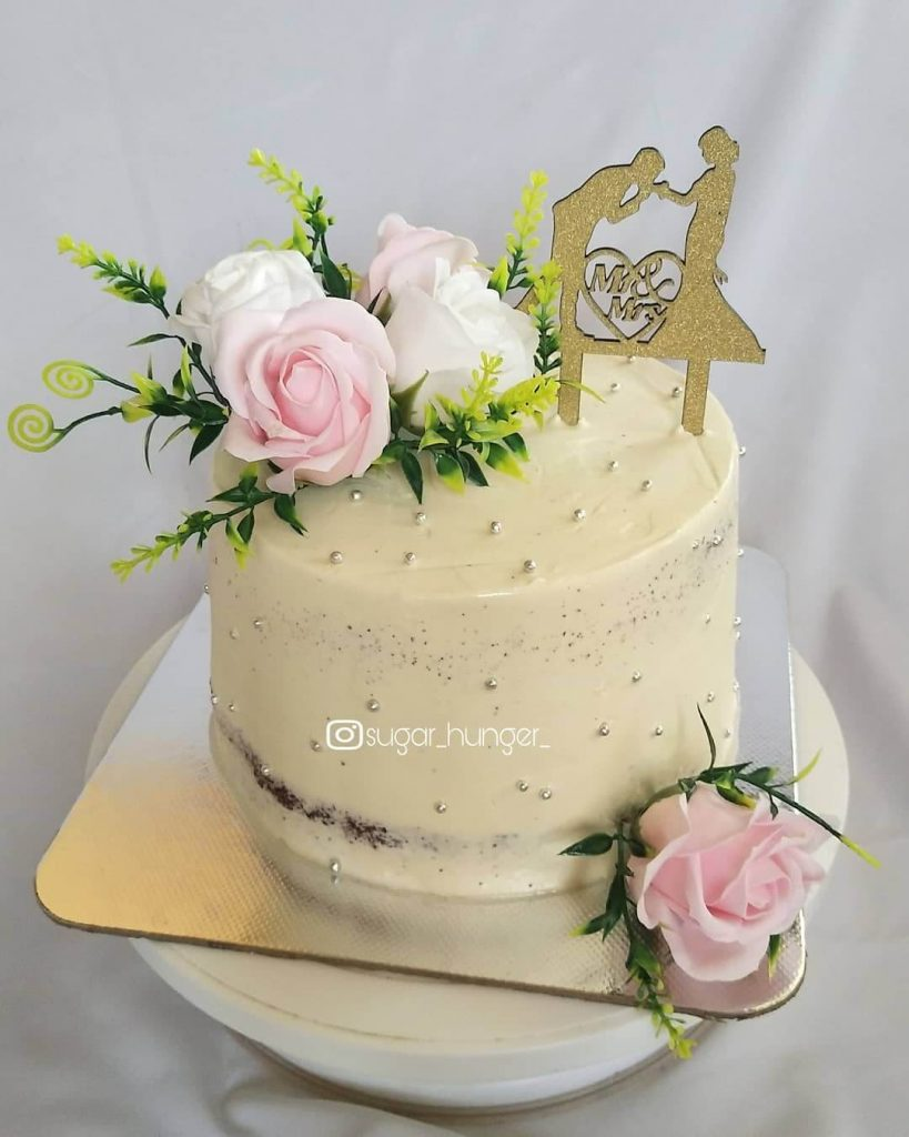 minimal wedding cakes