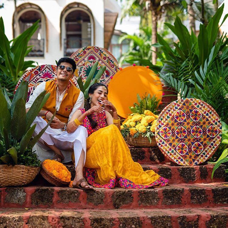 haldi ceremony ideas