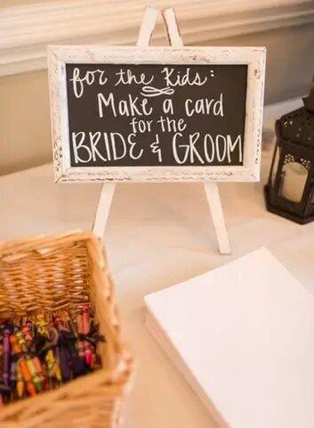 kid friendly weddings