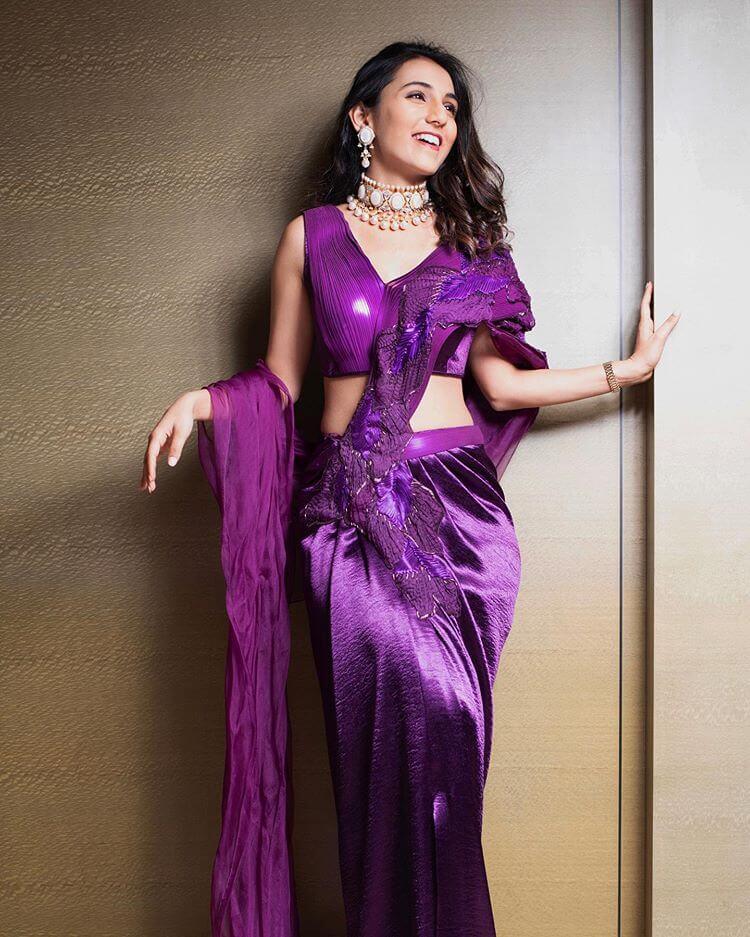 trendy cocktail sarees