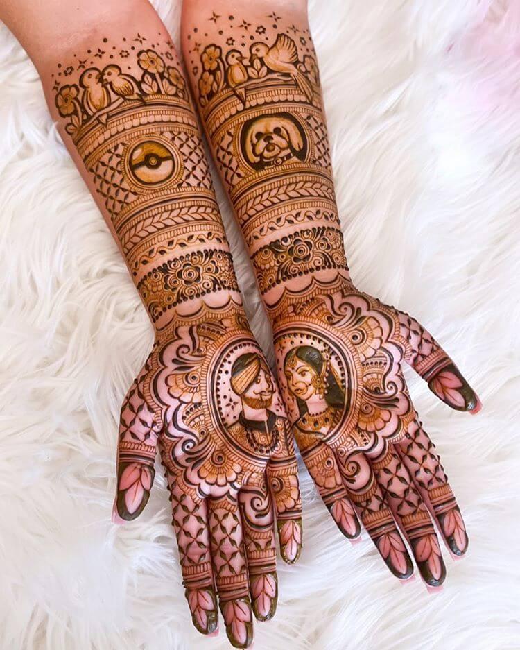 full hand mehndi designs
