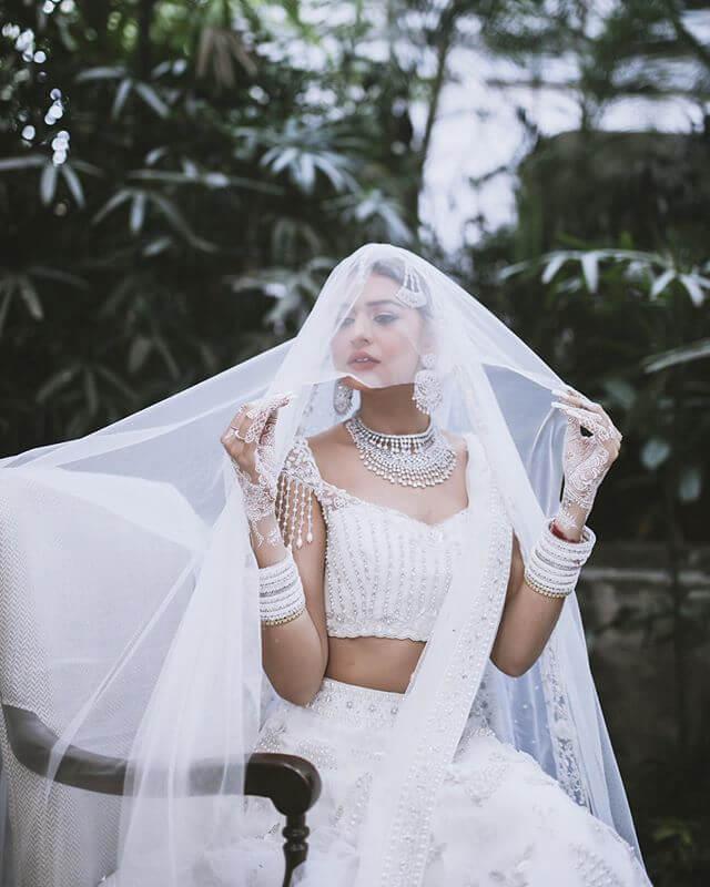 offbeat bridal attire