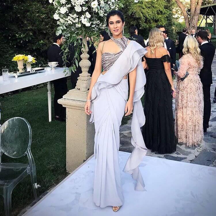 ruffled saree ideas