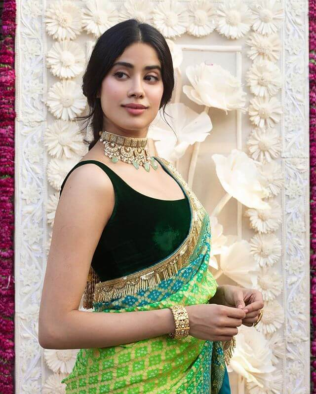 velvet saree blouse