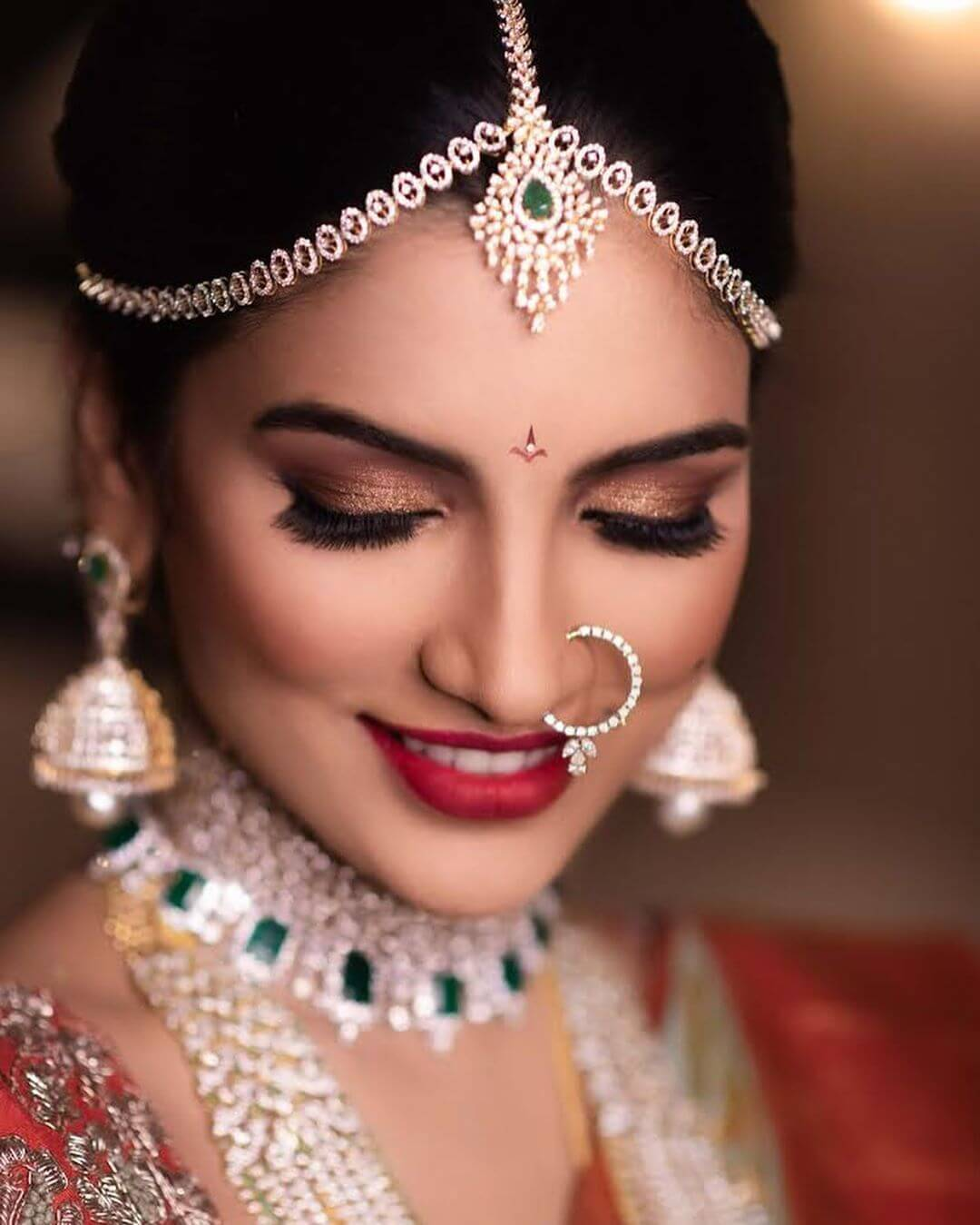 brides with bindis