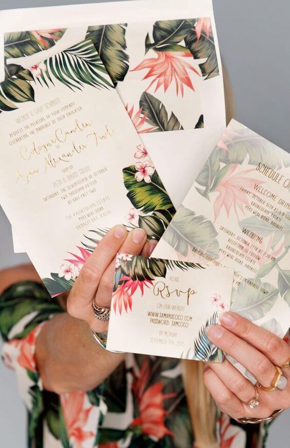 offbeat wedding invitations