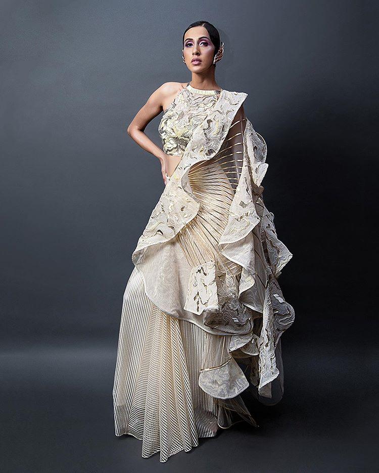 designer cocktail sarees