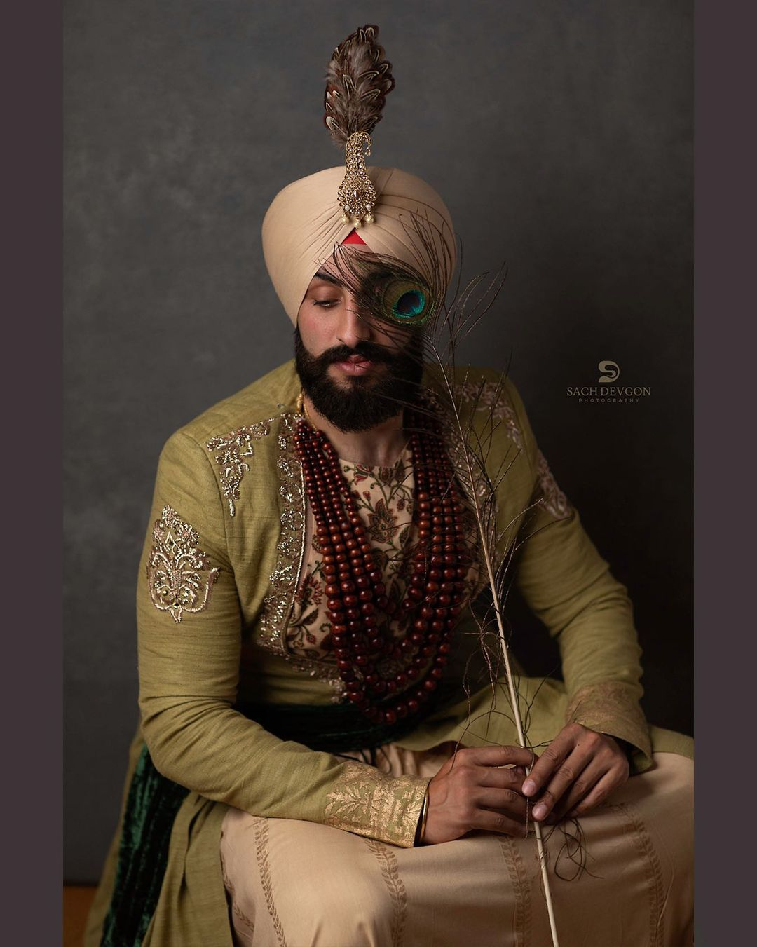 sikh groom necklaces