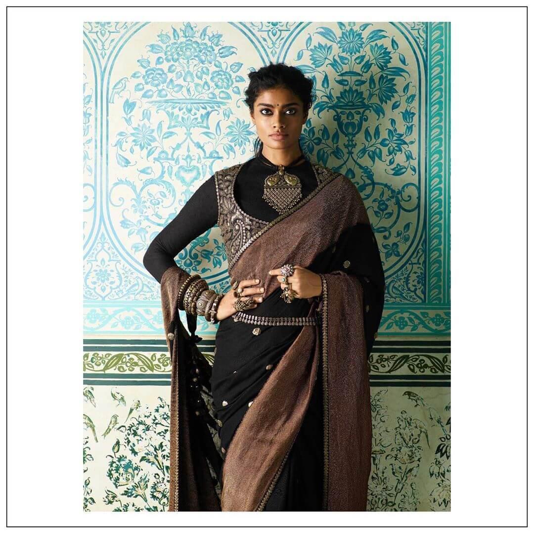 sabyasachi belted sarees