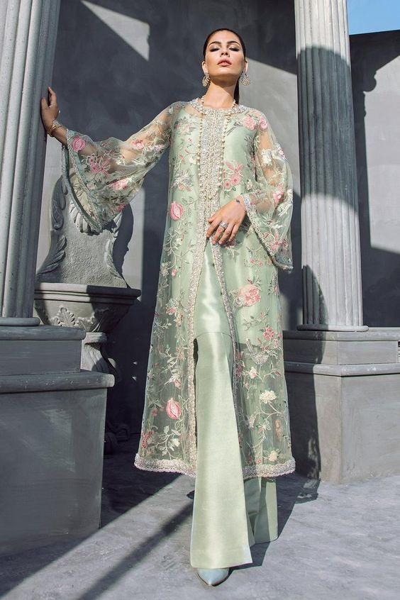 Green Ethnic Dress