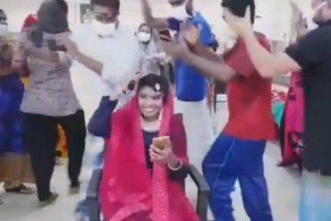 covid patients dancing