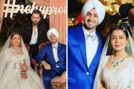 neha kakkar's wedding reception