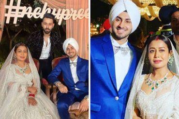 neha kakkar's wedding reception