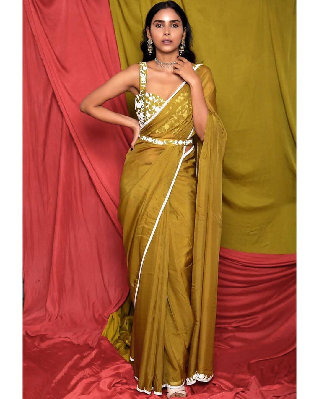 belted sarees