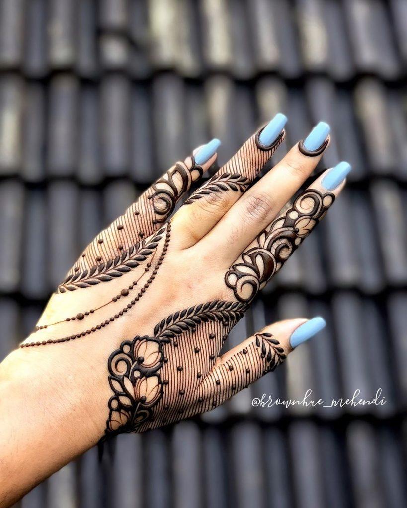 karvachauth mehandi designs