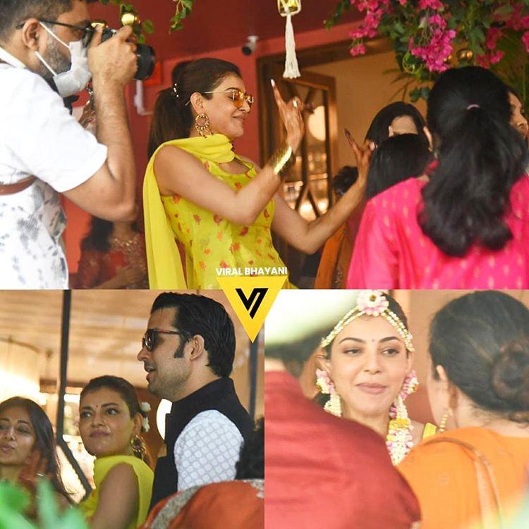 Kajal Aggarwal And Gautam Kitchlu's wedding