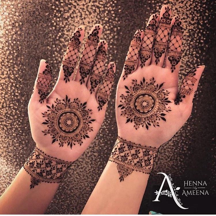 mandala mehandi designs