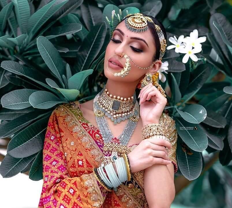 bridal jewellery, shish patti