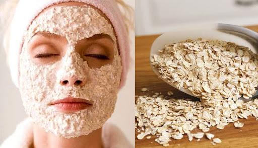 oatmeal mask, home remedies for clear skin