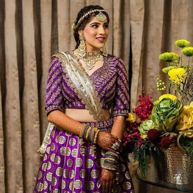 bridal mehendi outfit ideas