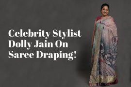 dolly jain saree draping