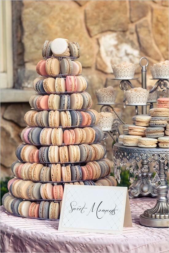 small wedding menus