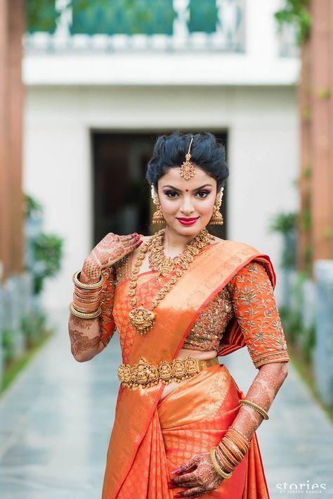 south indian bride,Kamarbandha