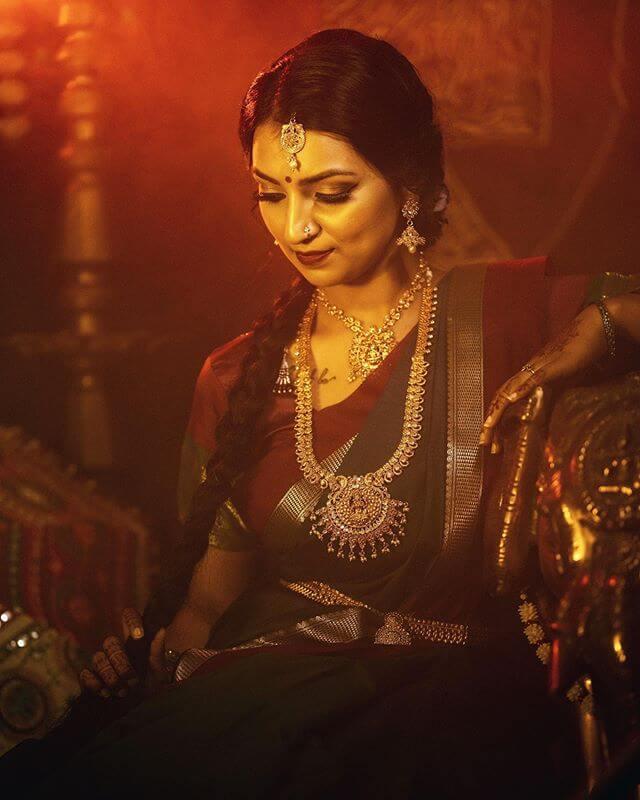temple bridal jewellery