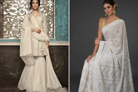 white indian dresses