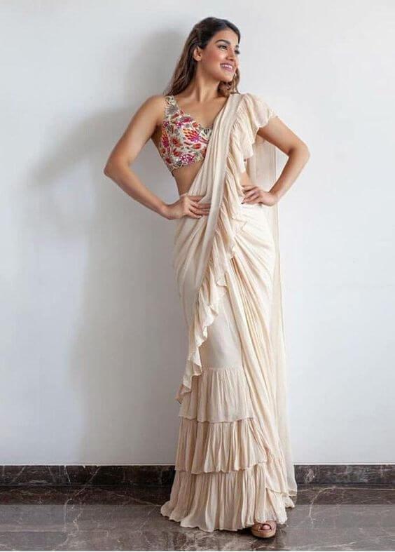 white indian dresses