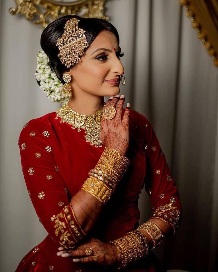 bridal jhumar with passa