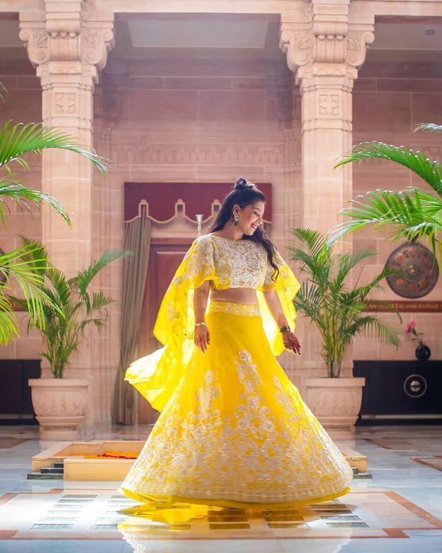 haldi outfit