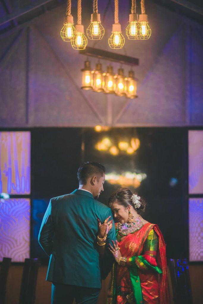 Assamese night wedding