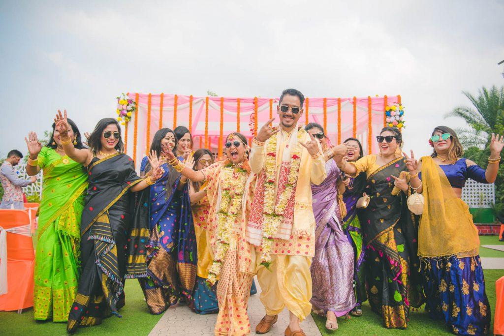 Assamese wedding photography