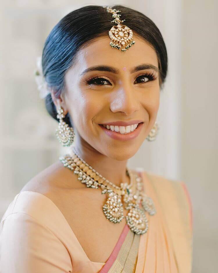 Bare Makeup Tamil Bride