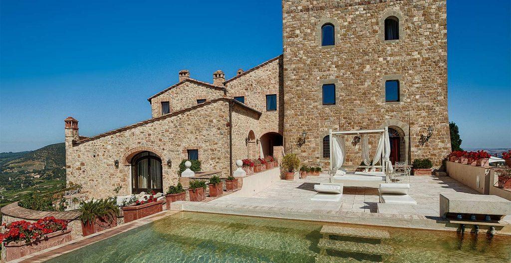 Castello Di Velona Resort, destination wedding venues in Tuscany