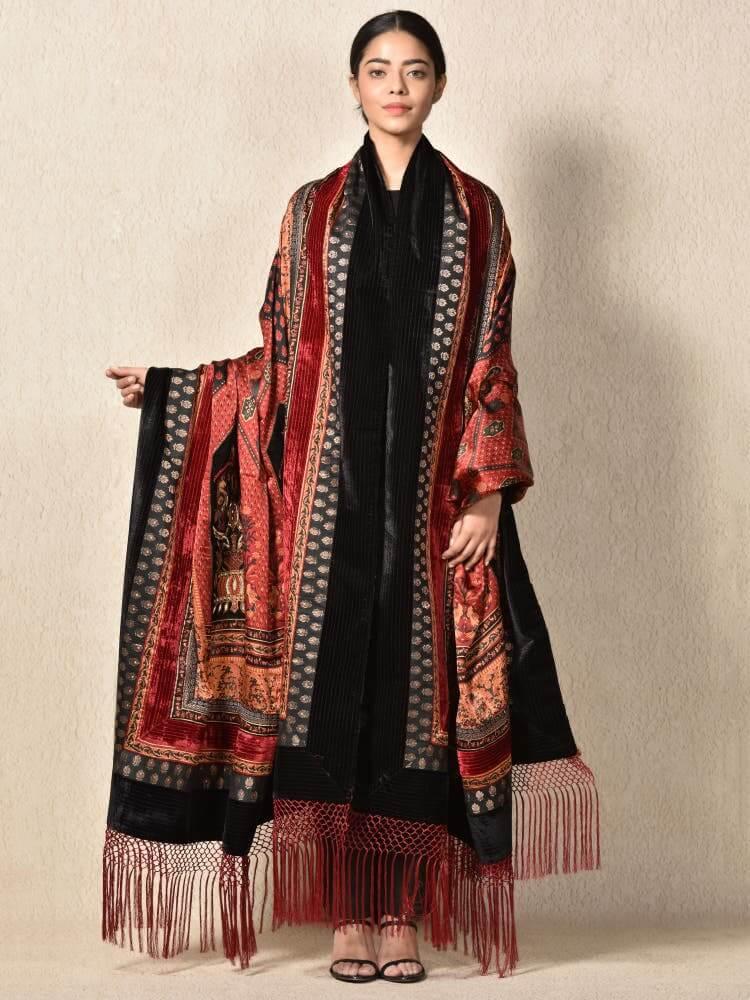 Couture Winter Shawl Ritu Kumar