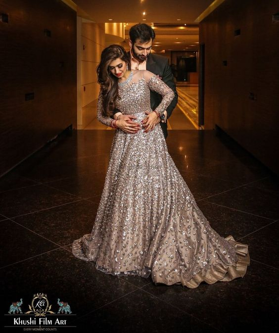 Engagement gowns for brides
