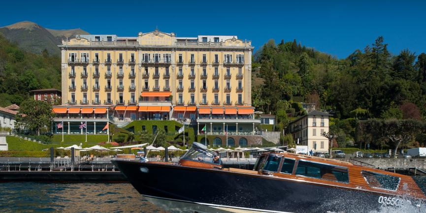 Grand Hotel Tremezzo Lake Como, destination wedding venues in Italy