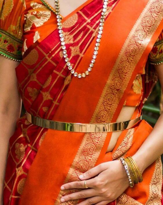 Sleek Belted Waist Chain