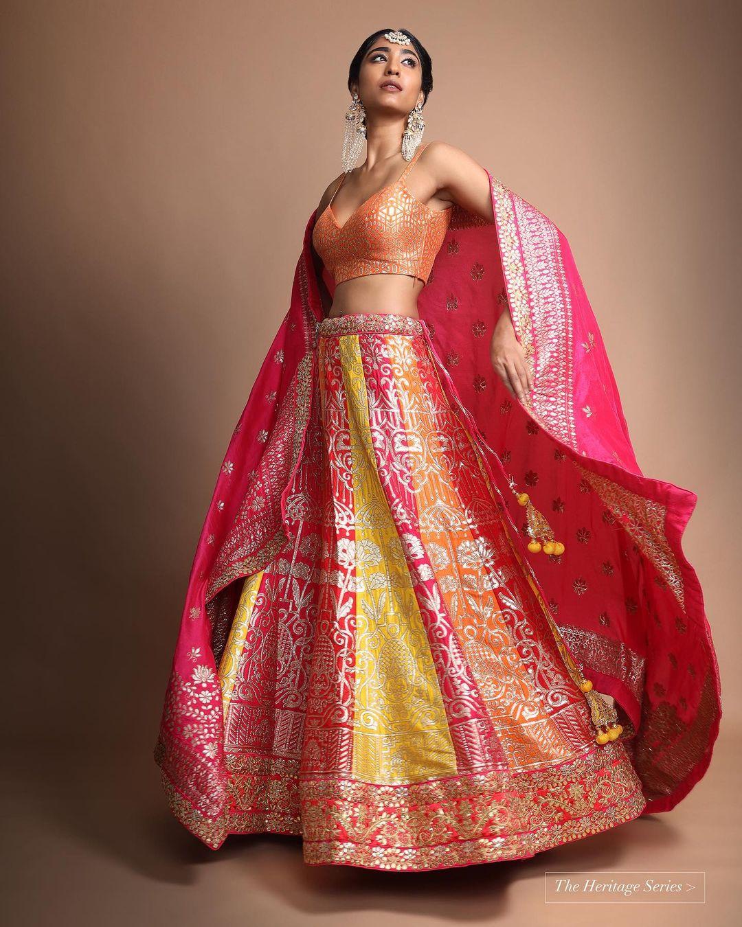 Kalki bridal outfit