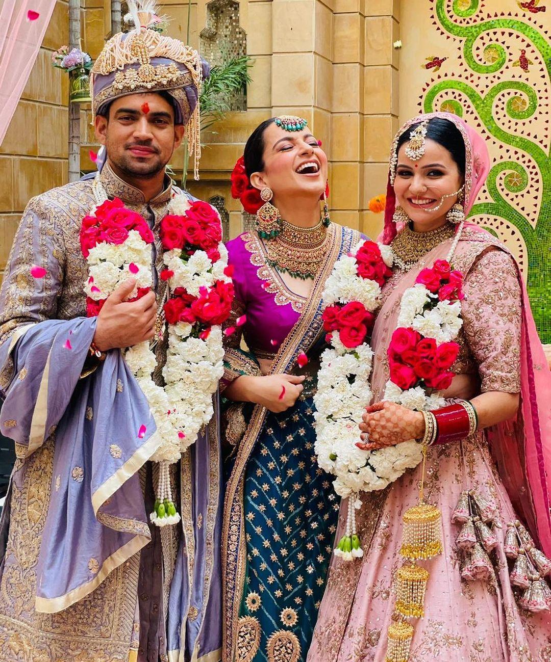 Kangana Ranaut%E2%80%99s Brother Aksht%E2%80%99s Wedding01