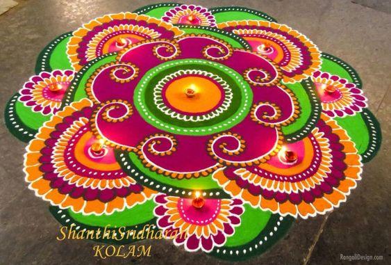 Vibrant Diwali Rangoli Designs That Will Leave You Spellbound