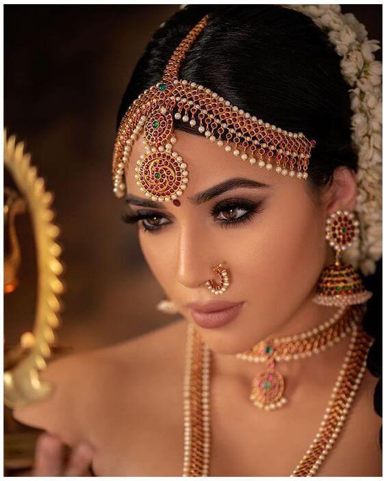 Nude Tamil Bridal Make Up